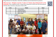 "Laurels at ""Engineering Innovation Challenge (EIC) 2019"""